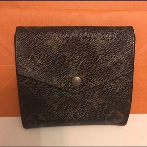 Authentic Louis Vuitton bifold monogram wallet